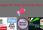 Best Android & IOS App for Free Govt Job Alert