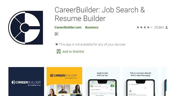 CareerBuilder Job Search & Resume Builder