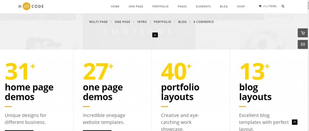 hcode-html css blog templates