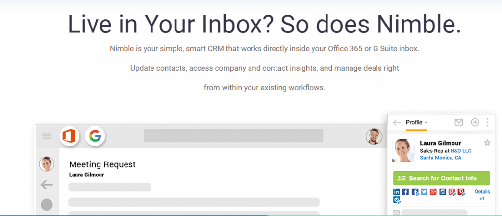 Nimble-CRM Software