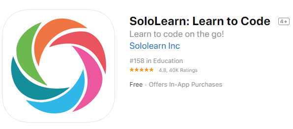 sololearn apps for coding