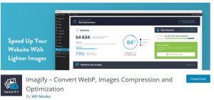 Imagify – Convert WebP, Images Compression and Optimization