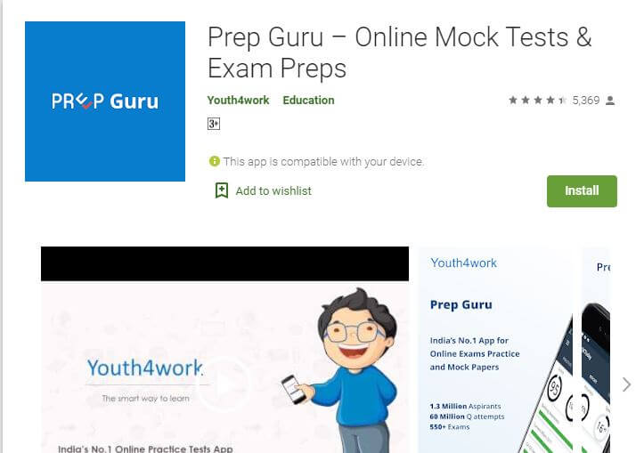 Prep Guru – Online Mock Tests & Exam Preps
