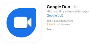 google duo-Apps for Android & IOS