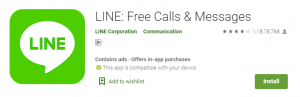 line-Top Video & Voice Call Apps for Android & IOS