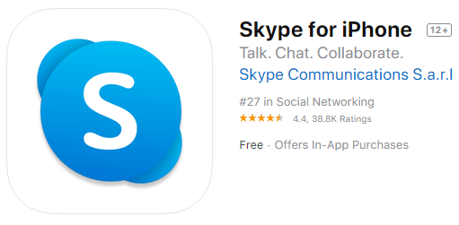 skype-Apps for Android & IOS