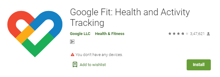 Google Fit- Health and Activity Tracking