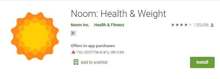 Noom Weight Loss App
