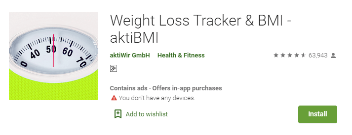 Weight Loss Tracker & BMI