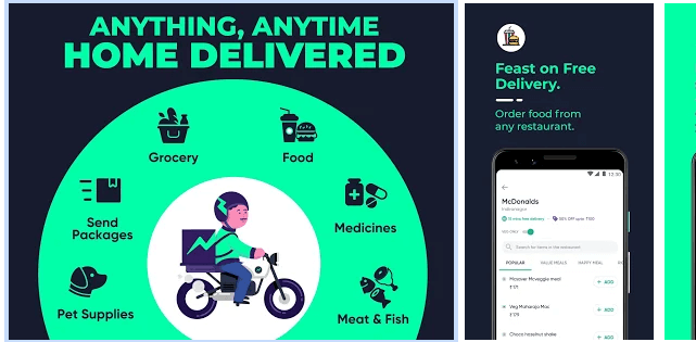 Dunzo -Delivery App for Food, Grocery & more