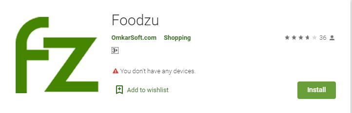 Foodzu - Online Grocery Shopping App