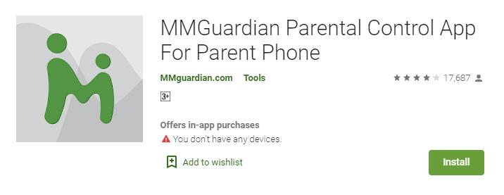 MMGuardian Parental Control App