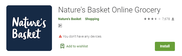 Nature's Basket Online Grocery