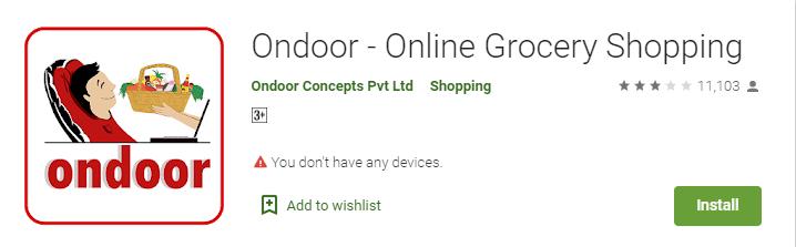 on door-Online Grocery Delivery Apps in India