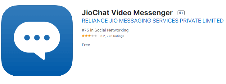 jio chat-Free Indian Chat Apps