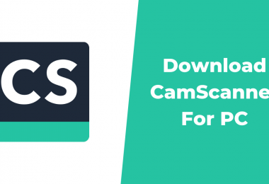 Download CamScanner For PC