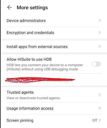unkwon app install option
