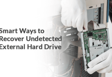 Manual Methods to Recover Data From Undetectable External Hard Drive