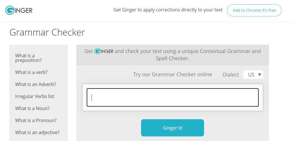 ginger tool