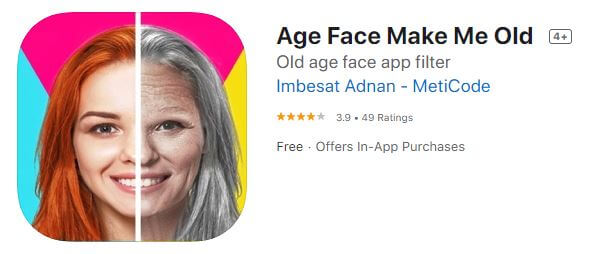 Age Face Make Me Old