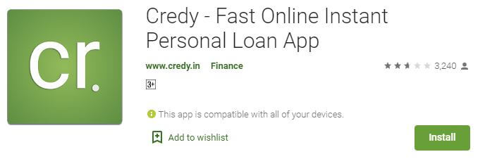 Credy - Fast Online Instant Personal Loan App
