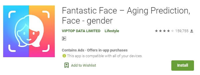 Fantastic Face – Aging Prediction, Face - gender