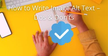 How to Write Image Alt Tags