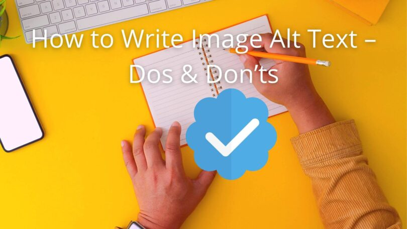 How to Write Image Alt Tags
