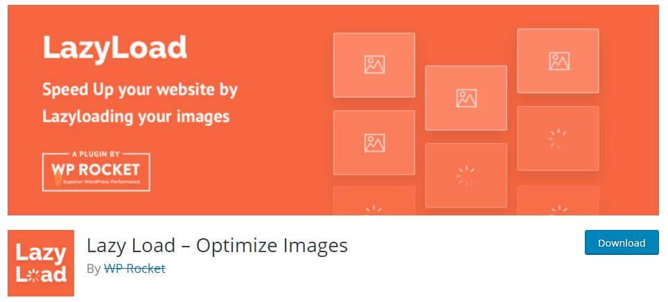 Lazy Load – Optimize Images rocket