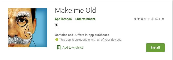 Make me Old android