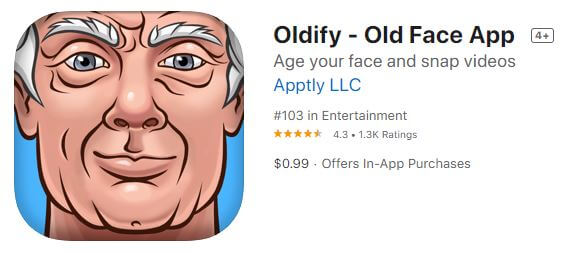 Oldify - Old Face App
