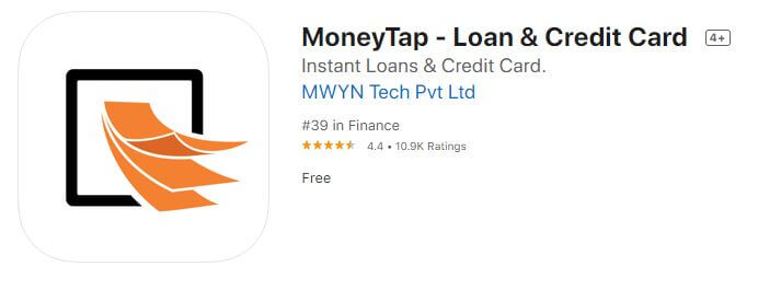 money tap loan app