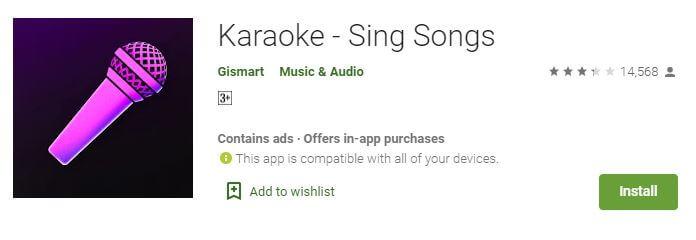 Karaoke - Sing Songs