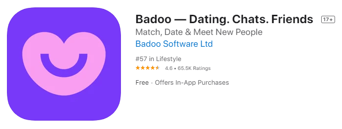 Badoo-stranger chat app without login
