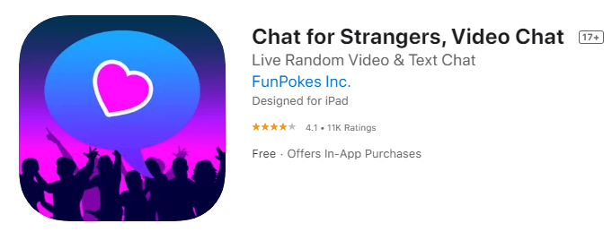 Chat for Strangers by FunPokes-Local chatting app