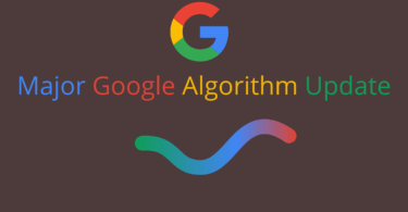 Major Google Algorithm Update
