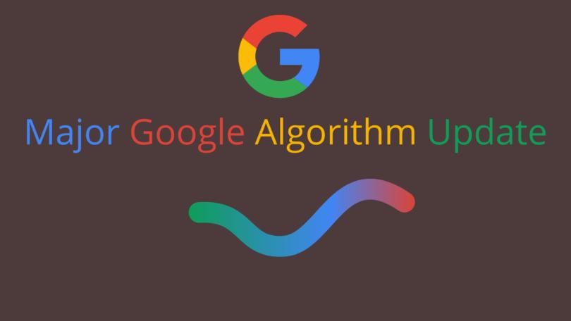 Major Google Algorithm Update