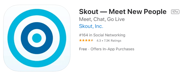 Skout-Local chatting app