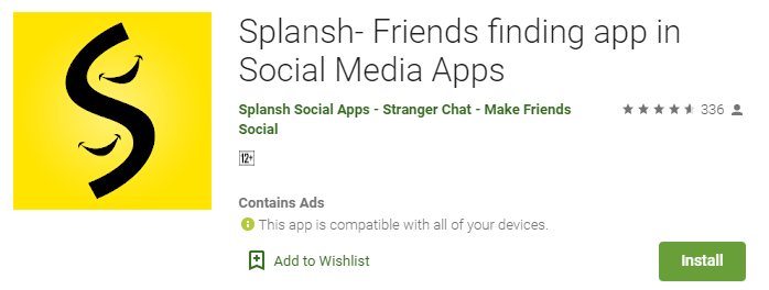 Splansh-Top Stranger Chat Apps