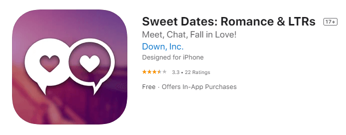 Sweet Dates-Top Stranger Chat Apps download free