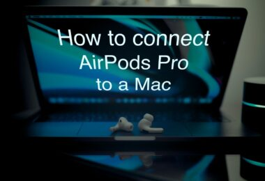 Using 3 Steps Connect AirPods to MacBook