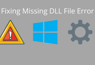 Fixing Missing DLL File Error