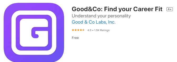 Good&Co Culture Fit Job Finder