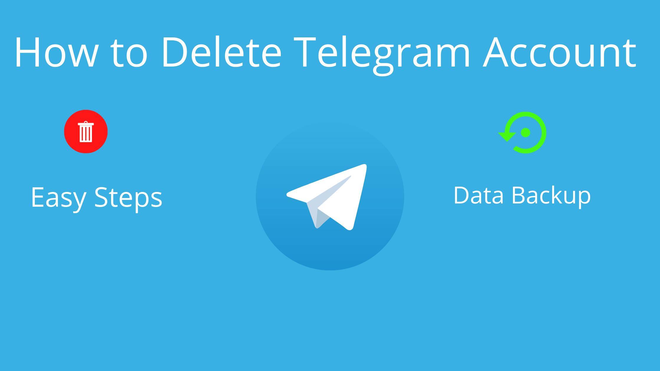 How to Delete Telegram Account Permanently - Seeromega