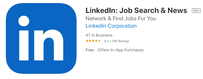 LinkedIn Job Seach App