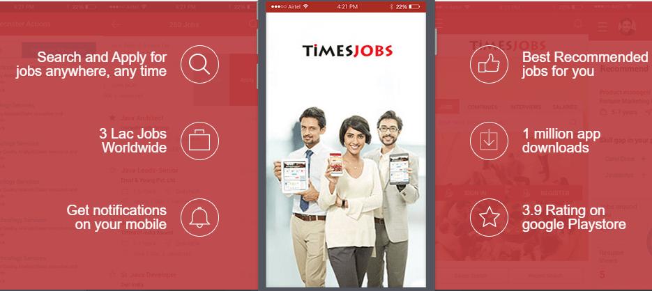 Timesjob Job search app