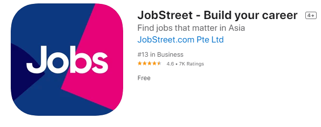 jobstreet job search app singapore