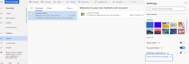 Export Gmail emails to hard drive using Outlook