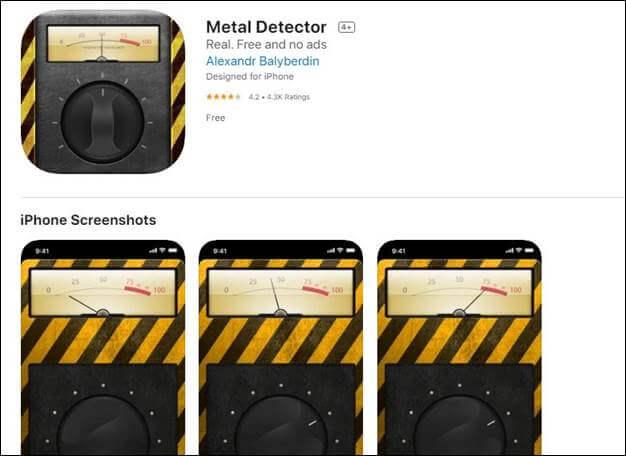 Metal Detector by Alexandr
