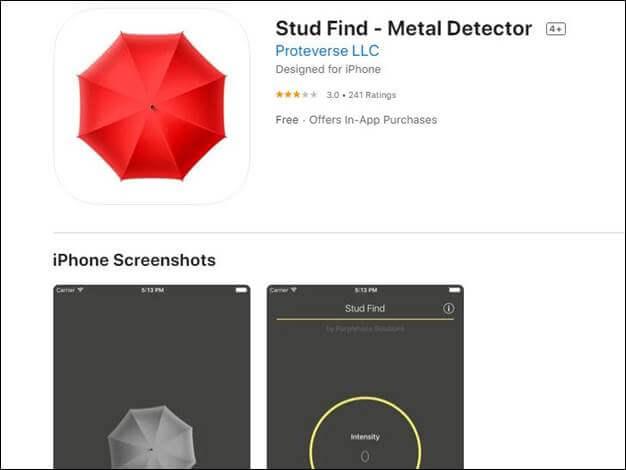 Stud Find – Metal Detector by Proteverse